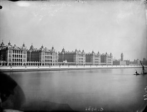 St Thomas' Hospital, Lambeth, London, c1871-1922