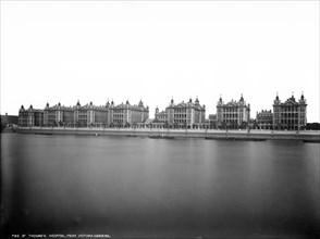 St Thomas' Hospital, Lambeth Palace Road, Lambeth, London, c1871-1900
