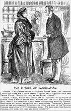 'The Future of Inoculation', 1881. Artist: Unknown