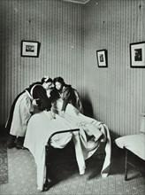 Housewifery, Barnsbury Park School, Islington, London, 1908. Artist: Unknown.