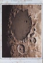 Part of the lunar surface, 1857. Artist: Anon