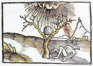 Thunderbolt or lightning, 1508.  Artist: Anon