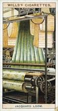 Jacquard power loom, 1915. Artist: Anon