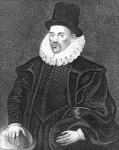 William Gilbert, English physician, late 16th century. Artist: Unknown