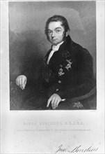 Jons Jacob Berzelius, Swedish chemist, early 19th century. Artist: Unknown