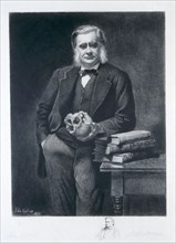 Thomas Henry Huxley, 1893. Artist: Leopold Flameng