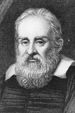 Galileo Galilei, Italian astronomer and physicist, 1635. Artist: Ramsay