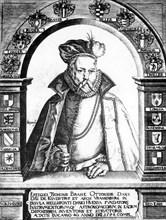 Tycho Brahe, Danish astronomer, c1586. Artist: Unknown
