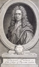 Daniel Turner, MD, LRCP, physician, 1717. Artist: George Vertue