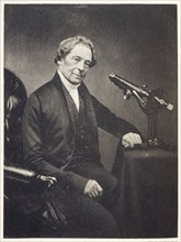 Joseph Jackson Lister, English wine merchant and amateur microscopist, 1830s. Artist: Maull & Co
