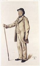 Sir John Lawes, English scientific agriculturalist, 1882.  Artist: Theobald Chartan