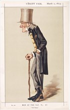 Professor Sir Richard Owen, FRS, KCB, naturalist, 1873. Artist: Spy