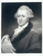 Sir William Herschel, astronomer, 1790s. Artist: John Russell