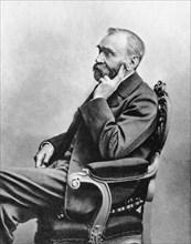 Alfred Berhard Nobel, c1880s. Artist: Unknown