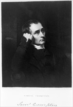 Samuel Crompton, English inventor of the spinning mule, c1880s. Artist: James Morrison