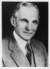 Henry Ford, American automobile engineer and manufacturer, 1908. Artist: Unknown