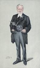 Sir William Crookes, English physicist and chemist, c1900s. Artist: Spy