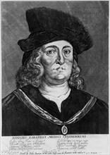 Theophrastus Bombastus von Hohenheim Paracelsus, Swiss alchemist and physician, 16th century.  Artist: Wenceslaus Hollar