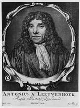 Antoni van Leeuwenhoek, Dutch pioneer of microscopy, c1660. Artist: Abraham de Blois