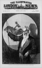 Eadweard James Muybridge, British-American photography pioneer, 1889. Artist: Unknown