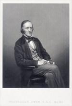 Sir Richard Owen, English zoologist, c1860.  Artist: DJ Pound