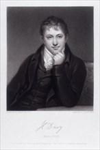 Sir Humphrey Davy, English chemist, 1803. Artist: C Turner