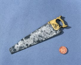 Model of a joiner's hand saw, c1816. Artist: Unknown