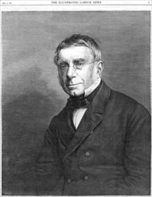 George Biddell Airy, English astronomer and geophysicist, 1868. Artist: Unknown