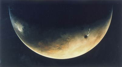 View of Mars, August 1976. Artist: Unknown