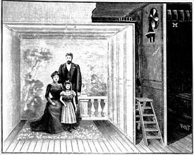 Boyer's photographic studio, 1899. Artist: Unknown