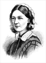 Florence Nightingale, 1870. Artist: Unknown