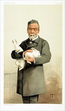Louis Pasteur, French chemist and founder of modern bacteriology, 1887. Artist: Unknown