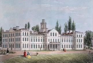 Smallpox Hospital, Highgate, London, c1871. Artist: Unknown