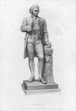 Joseph Priestley, English chemist and Presbyterian minister, 19th century. Artist: Unknown