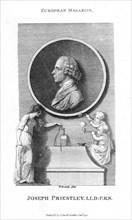 Joseph Priestley, English chemist and Presbyterian minister, 1791. Artist: William Bromley