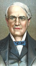 Thomas Alva Edison, American inventor, 1924. Artist: Unknown