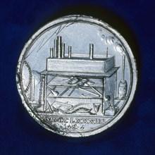 Reverse of commemorative medal for Joseph Priestley, English chemist, 1803. Artist: Unknown