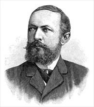 Emil von Behring, German immunologist and bacteriologist, 1902. Artist: Unknown