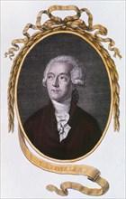 Antoine Laurent Lavoisier, 18th century French chemist, 1801. Artist: Unknown