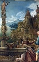 'The Rest on the Flight into Egypt', 1510 Artist: Albrecht Altdorfer