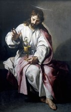 'St John the Evangelist with the Poisoned Cup', 1636. Artist: Alonso Cano
