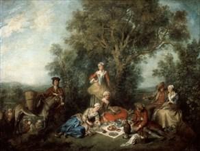 'The Autumn', 1738.  Artist: Nicolas Lancret