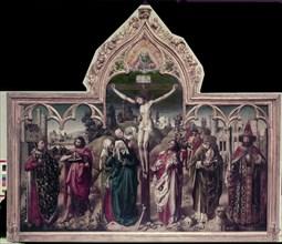 Altarpiece of the Parliament of Paris, c1452. Artist: Anon