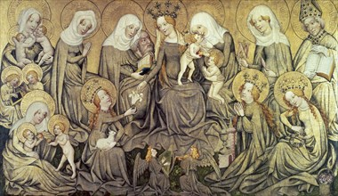 Centre panel of the Ortenberg Altarpiece, c1410-1420. Artist: Master of the Ortenberg Altar