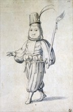 Design for a costume for a cook, 16th century. Artist: Giuseppe Arcimboldi