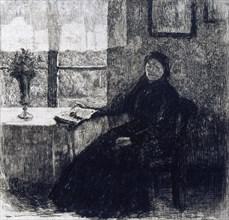 'Grandmother', 1909. Artist: Alexandre Lunois