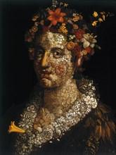 'Flora', c1591. Artist: Giuseppe Arcimboldi