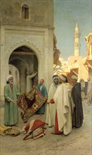 'Rug Merchant', 19th/20th century.  Artist: Frederico Bartolini