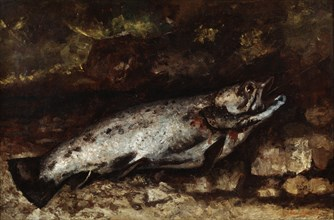 'The Trout', 1873. Artist: Gustave Courbet