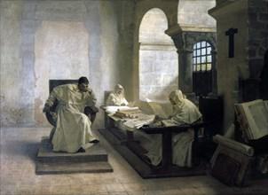 'The Men of the Inquisition', 1889.  Artist: Jean-Paul Laurens